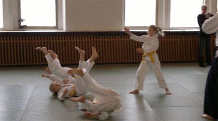 Детское айкидо это серьезный спорт для детей
