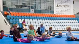 Дети на тренировке Айкидо